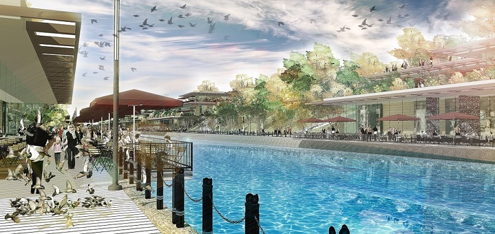 Project – Canal Tashkent. Category – Leisure Architecture