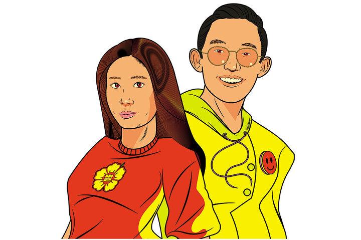 Мия Парк и Дэй Лим