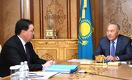 Первый президент Казахстана принял премьер-министра
