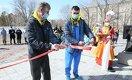 Новый теннисный центр открылся в Лисаковске