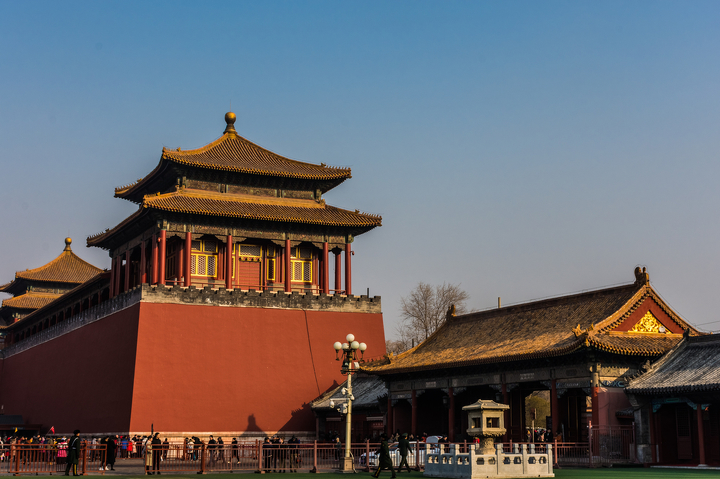 Entrance of the Forbidden City, Beijing, China