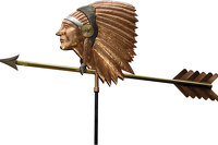 Weathervane sculpture