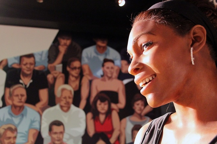 Wax Serena Williams at Madame Tussauds