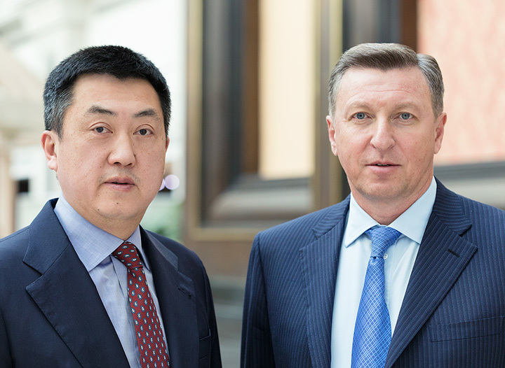 Сергей Кан и Александр Клебанов, акционеры АО