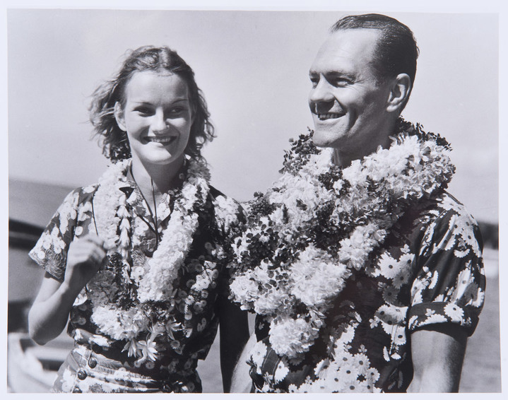 Doris Duke and James Cromwell arrived in Honolulu in August 1935