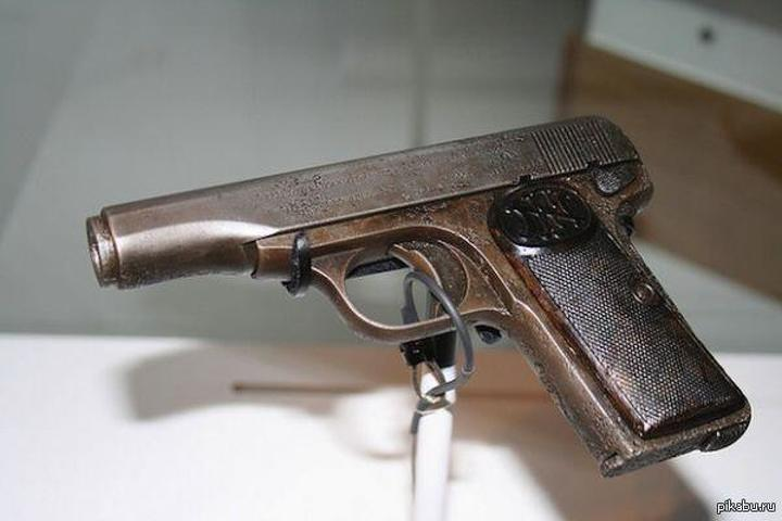 The pistol used in the June 1914 assassination of Archduke Franz Ferdinand