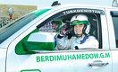 Глава Туркменистана построил внедорожник по собственным чертежам