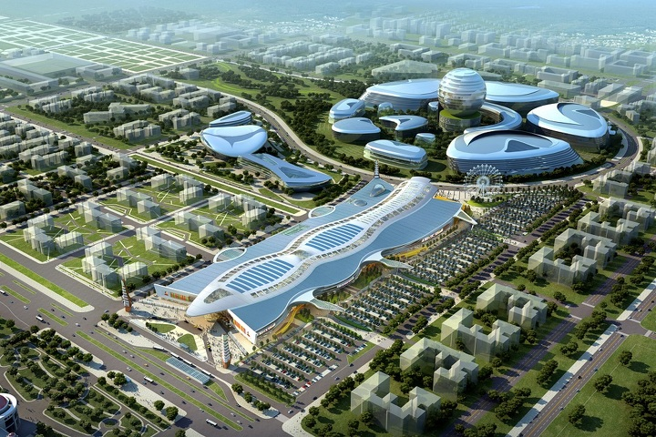 Chapman Taylor – Kazakhstan – www.chapmantaylor.com. Project – Mega Silk Way. Category – Retail Architecture