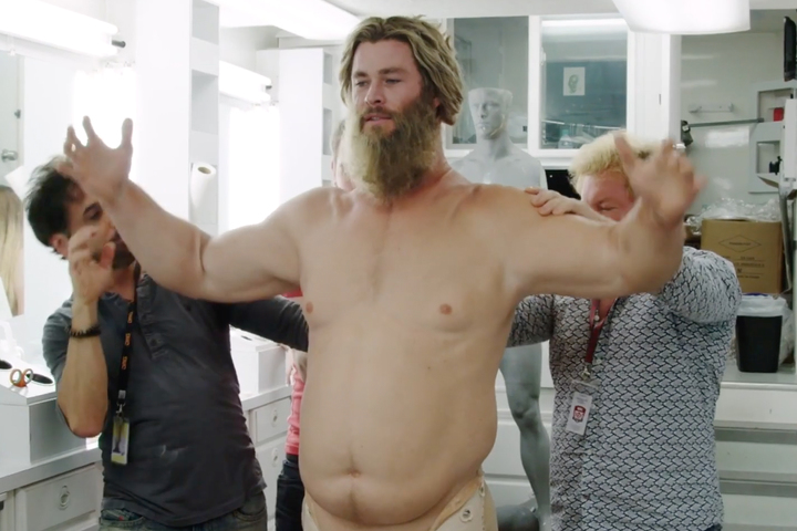 Chris Hemsworth Wore a 70-Pound Fat Suit to Play Thor in Avengers