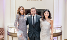 Мадалина Генеа, Джорджио Дамиани и Жанна Кан открыли новый бутик Damiani в Нур-Султане