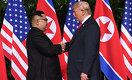 Пожали руки и улыбнулись: встретились лидеры США и Северной Кореи
