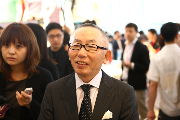 Tadashi Yanai, chairman and chief executive officer of Fast Retailing