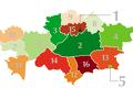 Рейтинг бизнес-климата регионов Казахстана