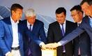 Булат Абилов и Ораз Жандосов запустили в Капшагае солнечную электростанцию