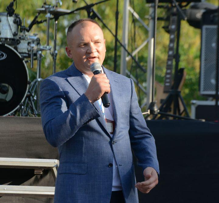 Алексей Щетинин церемонии презентации производства Kaz Organic Product