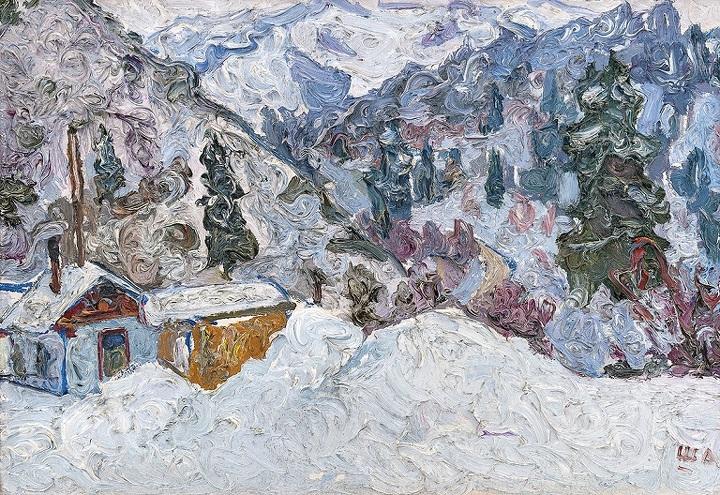 Жанатай Шарденов, «Высоко в горах», 1972