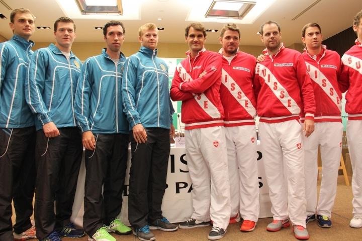 В апреле 2014 в Женеве сборная Казахстана в упорнейшей борьбе уступила в 1/4 финала Кубка Дэвиса Федереру и Вавринке, рвавшимся к своей первой
