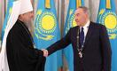 Нурсултану Назарбаеву вручена высшая награда Православной церкви Казахстана – орден «Алғыс»