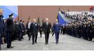Назарбаев посетил военный парад в Москве
