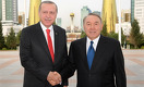 Эрдоган - Назарбаеву: Чувствую себя в Казахстане как дома