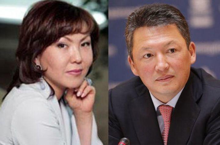 Динара  и Тимур Кулибаевы