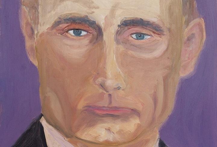 Жорж Бушийн зурсан В.Путины хөрөг