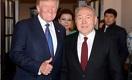 Трамп - Назарбаеву: Я приветствую ваше решение