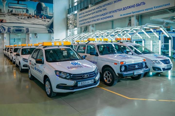 Автомобили в поддержку оперативных штабов и волонтерских групп