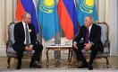 Назарбаев встретился с Путиным: «Нам необходимо работать»