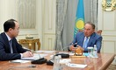 Назарбаев встретился с Кожамжаровым